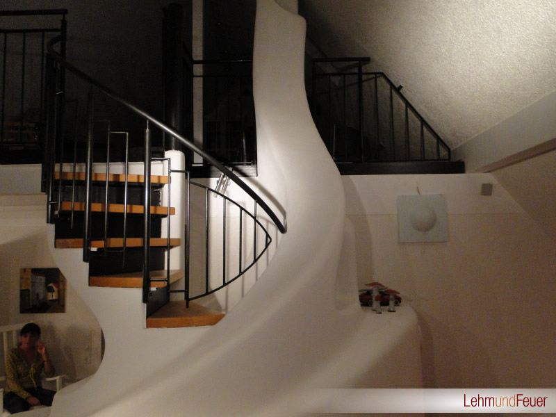 lehm licht und handgefertigte keramik innenarchitektur und raumgestaltung lehm und feuer. Black Bedroom Furniture Sets. Home Design Ideas